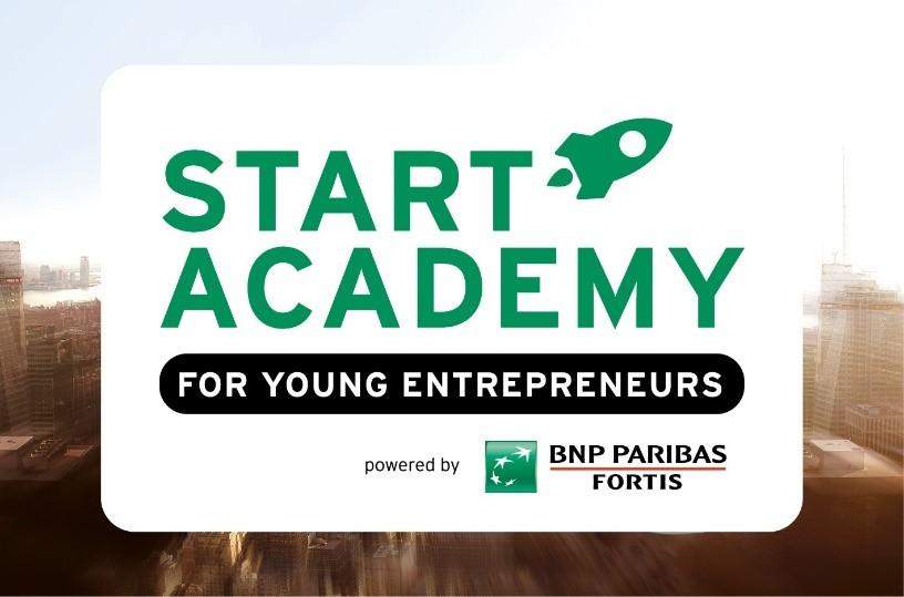 BNP Paribas Fortis nieuwe hoofdpartner Start Academy!