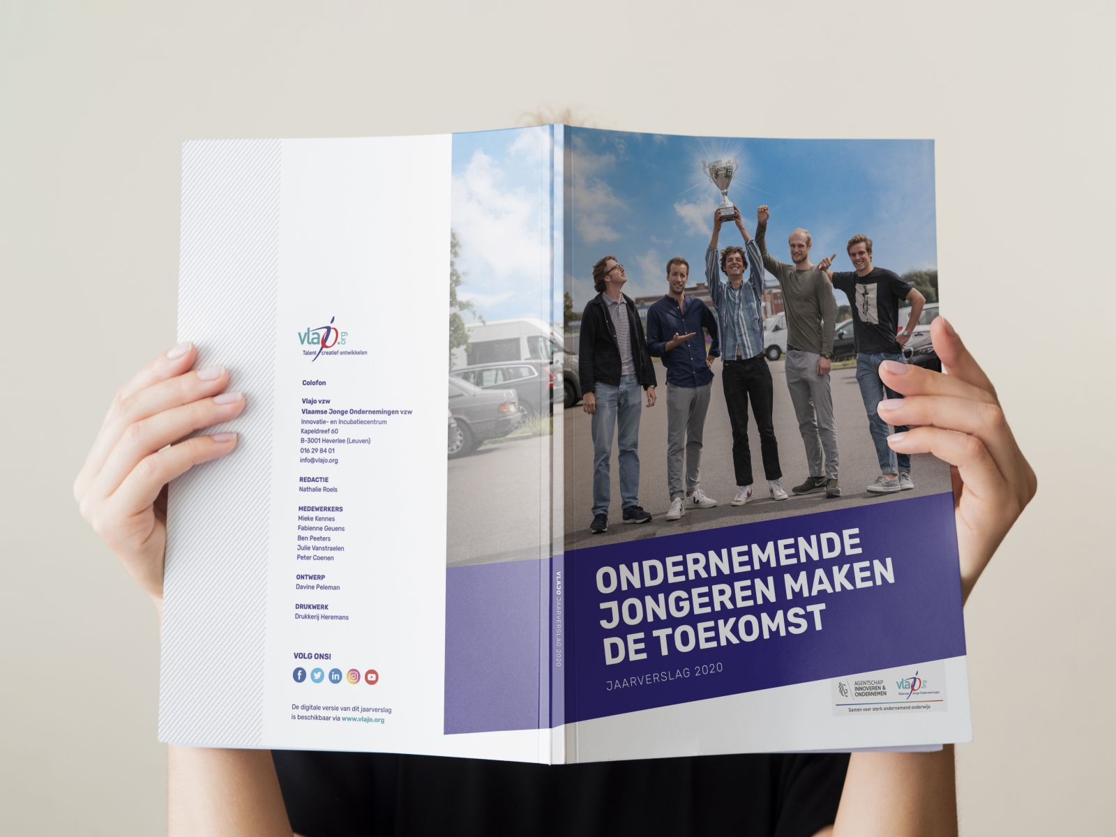 Het jaarverslag van Vlajo is er!