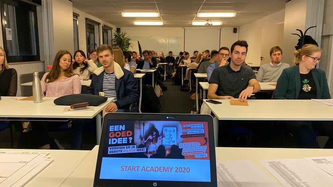 Kick-off-events Start Academy 2020