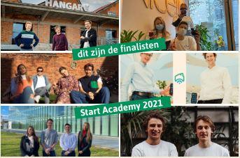 Dit zijn de 6 finalisten van Start Academy 2021!