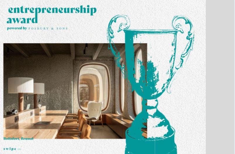 Win 1 jaar residency in co-workingspance Fosbury & Sons